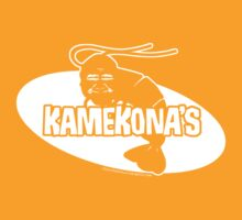 Kamekona's Shrimp logo from Hawaii 5-0 S2 (White) by Sharknose