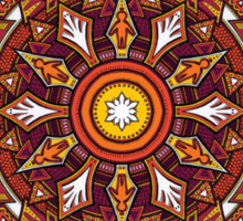 Mandala 44 T-Shirts & Hoodies Sticker