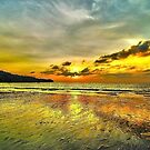 Sunset In Karon Beach by Giovanni Costa