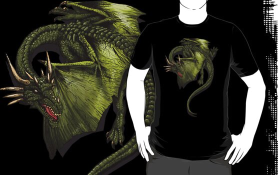 Dragon Shirt. by beanarts