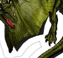 Dragon Shirt. Sticker