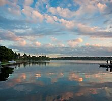 Greenlake Evening by mikereid