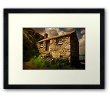 Cove House Framed Print