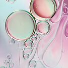 Girly Girly Bubble Abstract by Sharon Johnstone