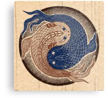 yin yang fish, shuiwudao mandala Metal Print