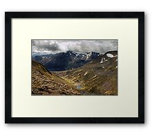 The Pools Of Dee Framed Print