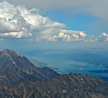 Top of Grand Teton Northward by EarthPhoenix