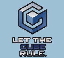 "Gamecube: ""Let The Cube Rule"" Shirt by MysticalNine"