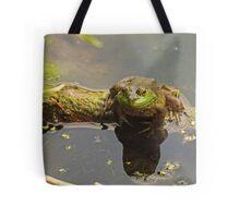 Frog February Tote Bag