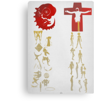 Humans come from Lilith, Angels come from Adam  Metal Print