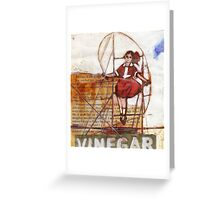 Melbourne Skipping Girl Greeting Card