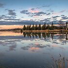 Sunset at Lake Ginninderra # 2 by Troy Barrett