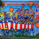 Harlem Globe Trotters by Chris Mitchell