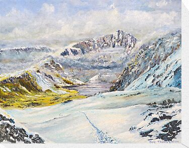 Winter on Cader Idris by Joe Trodden