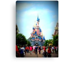 Disneyland Castle Canvas Print
