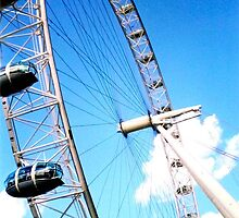 London Eye - Pods by missmoneypenny