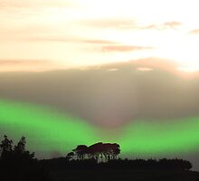 Northern Lights In Derbyshire? by Paul  Green