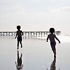 Boys on the Beach II by Ginadg73