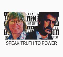 Speak Truth to Power (White shirt Version) by MTKlima
