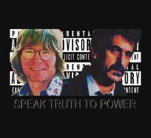 Speak Truth to Power (Black shirt Version) by MTKlima