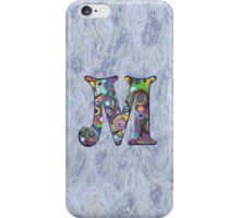 The Letter M iPhone Case/Skin