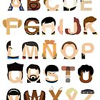 Star Trek Alphabet by Mike Boon