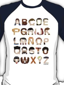 Star Trek Alphabet T-Shirt