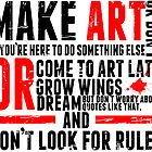 Make Art by Insecondsflat