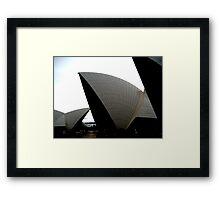 The Opera House Framed Print