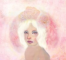 Rose Mandala by KatCanPaint