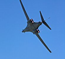 United States air force B-1B bomber by Joel  Brady