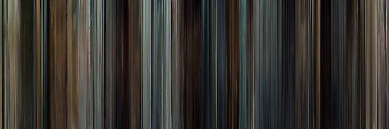 Moviebarcode: Taken (2008) by moviebarcode