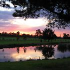 Sunset - St Mary's Towers Retreat Centre NSW by OzNatureshots