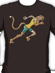 Olympic Runner Cheetah T-Shirt