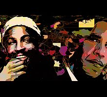 Barack Obama and Marvin Gaye (color) by ARTofMEWA