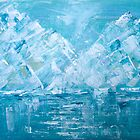 Turquoise ice by Lesley Rowe