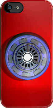 Arc reactor_iphone_case by ANDIBLAIR
