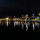 Fort de France by night by globeboater
