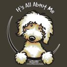 Yellow Labradoodle :: It's All About Me by offleashart