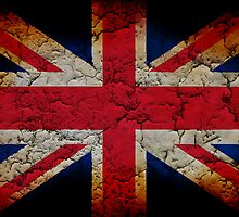 Distressed Union Flag by james miller