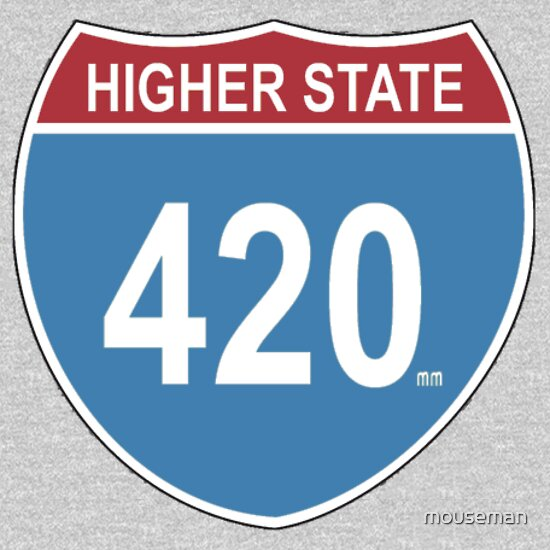Higher State 420 Sign T Shirt