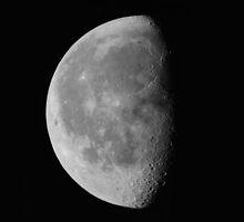 Luna . Landscape #1. by chris kusik
