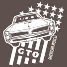 Pontiac GTO Stars & Stripes by Robin Lund