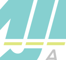 MJN Air Logo Sticker