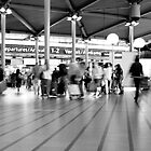Schiphol - Everyone has a place to get to.  by emmawind