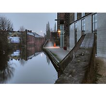 Canalside by Weavers Wharf Photographic Print