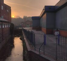 New Road, Kidderminster, sunrise by Alex Drozd