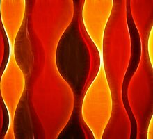Kathie McCurdy Abstract Flame by Kathie McCurdy