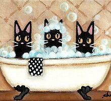 Bath Time by Shelly  Mundel