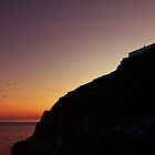 Mull of Galloway Sunset by derekbeattie